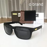 holbrook sonnenbrille polarisieren großhandel-Holbrook o Marke Mens Design Fashion Sonnenbrille Rahmen polarisierte Linse NEW9244 / 9102 New Outdoor Brille versandkostenfrei mit Originalverpackung 955