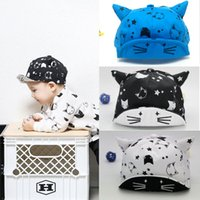 gorras de beisbol bebe bebe gorras al por mayor-Summer Newborn Toddler Kids Baby Girl Boy Béisbol Sun Star Moon Cap Hat 2018