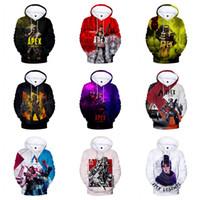 sudadera con capucha amarilla 3t al por mayor-Apex Legends Sudadera con capucha 3D Impreso Digital de manga larga Pullover Tops Cartoon Casual con capucha diseñador de ropa 10 colores A7