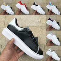 обувь для продажи оптовых-Dancego Sale Best 3M светоотражающие модные роскошные мужские дизайнерские туфли женские розовые тройные черные белые змеиная кожа платформы повседневная обувь кроссовки