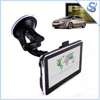 Wholesale gps igo map resale online - Car GPS Navigator inch Wince OS MB GB IGO Navitel Maps FM Speaker