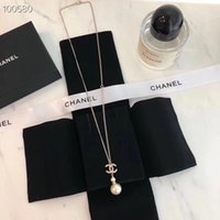 Wholesale stainless steel necklace for two resale online - Gold Plated Double Rings Pendant Necklace Choker L Stainless Steel Two Circle Rings Necklace Jewelry For Women
