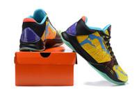 Wholesale shoes sale online free shipping resale online - high quality New Arrivals Men Finals MVP s V Rings Finals Released Basketball Shoes Shop online sale Size