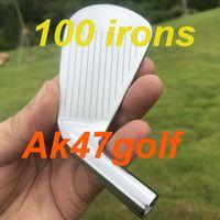 forja de hierro al por mayor-2020 nuevos hierros hierros de golf T100 forjadas SET (3 4 5 6 7 8 9 Pw) con el Proyecto X6.0 eje de acero 8pcs palos de golf
