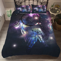 Wholesale feather quilts for sale - Group buy Bedding Set Bohemian Dream Catcher Quilt Feather Pillow Case Large