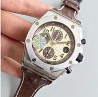 мужские часы оптовых-Factory 3 Style Best Edition 42mm 26470OR.OO.A002CR.01 Хронограф Swiss 7750 Механизм Автоматические мужские наручные часы Мужские роскошные часы