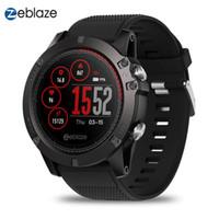 mulheres modelo fitness venda por atacado-Zeblaze vibe 3 ecg smart watch pulseira cor display ip67 modelos multi-esportes à prova d 'água pulseira de fitness rastreador das mulheres dos homens