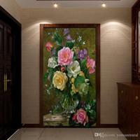stoff fotopapier großhandel-3d fototapete hohe qualität für tv hintergrund tapeten wohnzimmer dekoration wandbild stoff tapete für wände