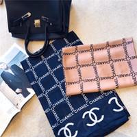 seide trend mode großhandel-Luxus Mode Marke Designer Trend Frauen Monogramm Seide Frühling Sommer Herbst und Winter Schal Schal Stil schöne elegante Kleidung
