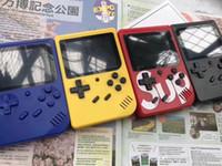 pantalla para consola al por mayor-Nueva consola de juegos portátil SUP Sup Plus Consola de juegos portátil nostálgica 8 Bit 300 en 1 FC Juegos Pantalla LCD en color