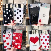 Wholesale clip glasses mirror resale online - Mirror Face Phone Case Xs xr max Protective Cover Makeup Mirror Tempered Glass Case For sp plus Case Shell Cell Phone Cases