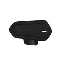 motosiklet kaskı kablosuz bluetooth kulaklıklar toptan satış-Mic 2019 ile Yeni Motosiklet Kablosuz Bluetooth Kulaklık Motosiklet Kaskı Su geçirmez Kulaklık Kablosuz Ses Kontrol Kulaklık