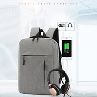 Wholesale travel school bag male for sale - Group buy Fashion NEW inch Laptop Backpack USB Charging Anti Theft Backpack Men Travel Backpack Waterproof School Bag Male