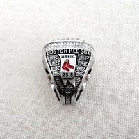 ingrosso souvenir fan-2019 Nuovi gioielli del campionato del mondo Anello rosso 2018 Boston World MVP Sox Campionato Anello Fan Regalo Souvenir all'ingrosso Alta Quanlity