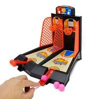 настольная игра машина оптовых-Детские игрушки двойной палец выброс баскетбол игровой консоли интерактивные настольные игры игрушки мини-стрелялки добро пожаловать на купить