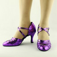 Wholesale square dancing shoes online - Gold Blue Serpentine Pattern Latin Modern Dance Shoes Soft Outsole Ballroom Dancing Shoes Women s Square Dance Shoes