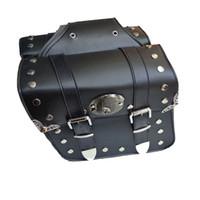 ingrosso moto della borsa della sella-2 x Borse moto laterali laterali per motociclette laterali universali per moto Borse laterali sinistra