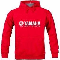 yamaha logo großhandel-Herbst und Winter Neuzugang Yamaha logo Bedruckter Pullover Hoodie Sweatshirt Mit Kapuze Hoodies Pullover Hoody-Bekleidung
