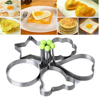 Wholesale stainless cook rings for sale - Group buy Stainless Steel Fried Egg Shaper Pancake Mould Mold Kitchen Cooking Tools Kitchen Fried Egg Shaper Ring Pancake Mould DHL WX9