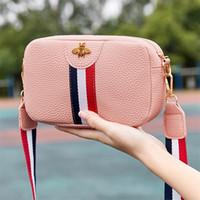 schultertasche trend groihandel-Designer Luxus-Umhängetasche Weibliche beiläufige Rechteck tragbare Einzel-Schulter-Beutel PU-Leder-Telefon-Münzen-Beutel-Trend-Handtasche Umhängetasche