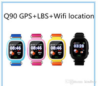 Wholesale wrist phone wifi android online – Q90 Bluetooth Smartwatch with GPS WiFi LBS for iPhone IOS Android Smart Phone Wear Clock Wearable Device Smart Watch Colors