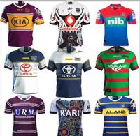 ingrosso pullover di spedizione-Trasporto libero 2020 Brisbane Broncos Australis Sydney Roosters di rugby jersey 2020 HOLDEN BLUES Cavalieri guerrieri INDIGENI Sea Eagles