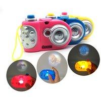 bebek oyuncakları oyuncakları toptan satış-Roman Karikatür projeksiyon kamera oyuncak karikatür projeksiyon kreş oyuncakları Çocuk eğitici oyuncaklar bebek hediye brinquedos WYQ