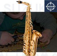 Alto Sax Japan SUZUKI High Quality Instrument E Flat music professional Alto Saxophone Free shipping
