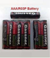 bateria de carbono de zinco venda por atacado-Baterias super do zinco do carbono da qualidade 1.5V UM4 R03P R03 baterias secas descartáveis preliminares