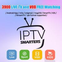 observa o canal venda por atacado-Assinatura IPTV 3/6/12 meses Suporte para assistir 3800+ canais de TV ao vivo e 4500+ VOD Canais Europe Arabic Sports USA