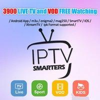 iptv sportkanäle großhandel-IPTV-Abonnement 1/3/6/12 Monate Support für 3900+ Live-TV- und VOD-Kanäle in Europa, Arabisch, Sport, USA