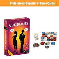 Wholesale funny games play kids online - Codenames Party Game Funny Games For Adults Social Word Game a Simple Premise And Challenging Playing Card Game