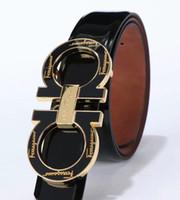 hombres originales cinturones de diseño al por mayor-2020 Nuevo y original diseñador de cuero. Hebilla grande para hombre. Cinturón de hebilla de lujo. Moda para hombre. Cuero genuino.