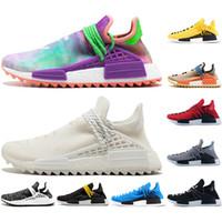 Wholesale wave socks for sale – custom With Socks fashion Designer shoes men pharrell williams human race women Wave Runner running mens Training top qualit chaussures Sneaker