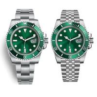 otomatik analog saat toptan satış-V9 116610LV montre DE luxe 3a 904L hassas çelik üç bant (isteğe bağlı beş) 3135 otomatik mekanik hareket saatler tasarımcı saatler