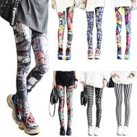 sıkı kapri kadınları toptan satış-Esneme Capri Legging Bayanlar Casual Sorunsuz Baskı Tozluklar Spor Spor Yoga Pantolon koşucu A-LJJA2550 Women Sıkı pantolon giyin