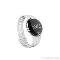 überwachen ip65 großhandel-E07 wasserdichtes IP65 Bluetooth Smart Armbanduhr Sport gesunde Pedometer Schlaf Monitor intelligente Uhren für Android-Telefone Freies Verschiffen