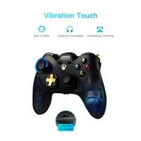 joysticks usb venda por atacado-Soundfox Wire Game Controller Gamepad Joystick para XBOX ONE e PC Controlador Com Fio Gamepad com Dual Joypad Vibration Controladores de Jogos