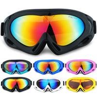 лыжи солнцезащитные очки глазные лыжи оптовых-Мода Sand-доказательство Открытый Солнцезащитные Очки Спорт Альпинизм Однослойные Детские Лыжные Очки Защиты Глаз Подросток Лыжные Очки TTA1147