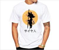 vendendo camisas 3d venda por atacado-Dragon Balls T Shirts Homens Verão Dragon Ball Z Super Slim Fit Cosplay Desugner 3D Camisetas Anime Vegeta DragonBall Camisetas Homme Venda quente