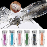 elmas şekilli kristaller toptan satış-NA062 50 adet Kristal Parlak 3D Nail Art Rhinestones Karışık Tasarımlar At Göz / Waterdrop / Kalp / Elmas Şekli DIY Dekor Charms (Karışık şekil)