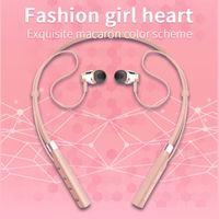 Wholesale bluetooth headset handsfree wireless earphone resale online - Bluetooth Headset Earphone G1 G2 V5 Portable Wireless Bluetooth Headphones with microphone Sports Neckband Handsfree