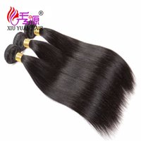 Wholesale 100 Unprocessed Straight Virgin Human Hair Bundles Xiuyuan Good Quality Malaysian Straight Remy Human Hair Extensions