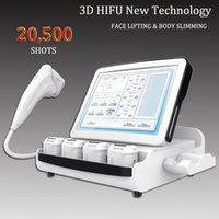 Wholesale shooting machines for sale - Group buy 3D Hifu Machine Skin Tightening Wrinkle Removal Beauty Equipment SPA Salon use One shot can make lines