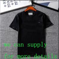 ingrosso camicie di moda-Magliette firmate Abbigliamento da uomo Magliette da uomo Maglietta estiva di moda Maglietta a maniche lunghe Stampata Camicia da uomo di lusso M-2XL