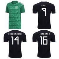 oro tailandés al por mayor-Thai 2019 Gold Cup México camisetas de fútbol 19 20 CHICHARITO LAYUN CHUCKY camiseta de fútbol G DOS SANTOS LOZANO camiseta camisas de futebol