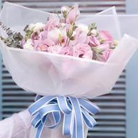 urlaub geschenk verpackung großhandel-20 teile / los Matt Bouquet Geschenkpapier Hochzeit Urlaub Blumen Geschenk festival Dekoration Verpackung Diy handgefertigt Material 10 arten