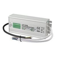 ip66 led sürücüsü toptan satış-Ultra İnce IP67 Su Geçirmez LED Şerit Güç Kaynağı AC 110 V 220 V için 12 V 24 V 60 W 100 W 200 W 300 W 400 W 800 W Güç Adaptörü