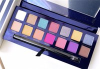 Wholesale 2019 NEW Brand makeup palettes RIVIERA colors Eye shadows palettes Shimmer Matte Eye shadow soft beauty palette