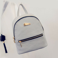 Wholesale rucksack backpacks girls for sale - Group buy Fashion Women PU Backpack mini backpack Travel Shoulder Bag Girls Ladies PU Leather Rucksack White Cmall